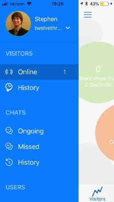 Zoho SalesIQ Mobile App